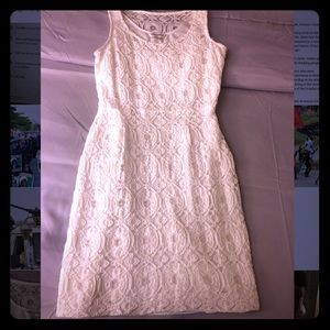 Banana republic shirt white dress